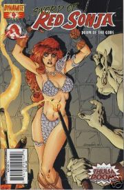 Red Sonja Doom of the Gods #4 Cover B